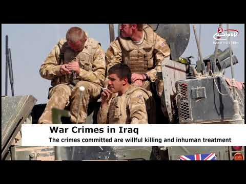 ICC: British soldiers have committed war crimes in Iraq