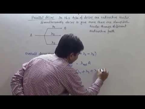 6  Radioactivity   Parallel & Series decay