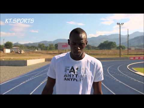 USAIN BOLT TIPS FOR ATHLETES FOR (100M AND 200M) (MOSTLY SPRINTERS)
