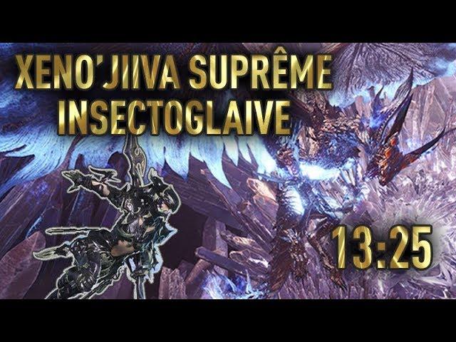 MHWorld : Xeno'Jiiva Suprême à l'Insectoglaive