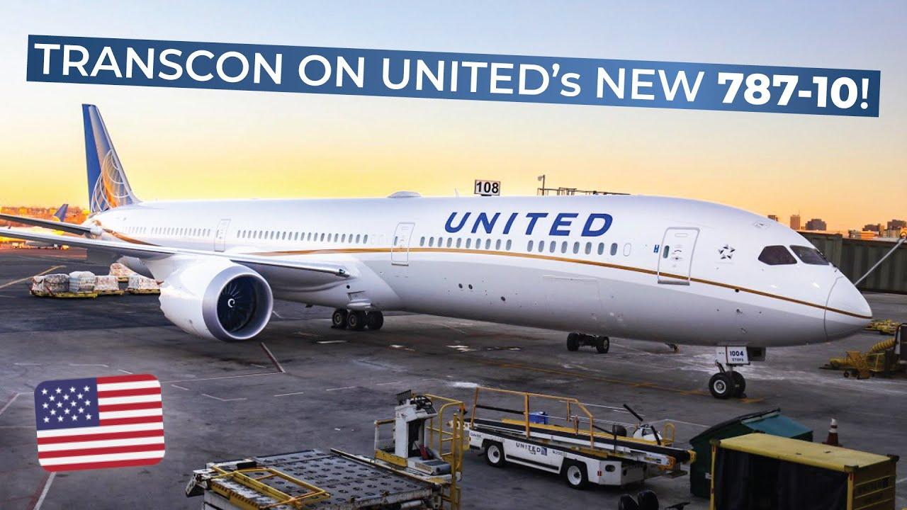 TRIPREPORT | United (ECONOMY) | Boeing 787-10 | Los Angeles - Newark