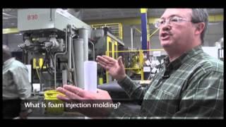 What is foam inje¢tion molding?