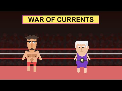 Edison vs Tesla - War of currents | Tell me why