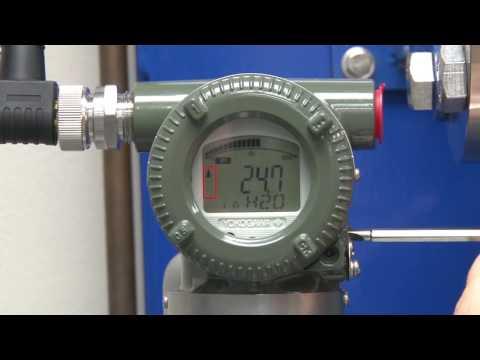 Manual Tank Level Transmitter Adjustment