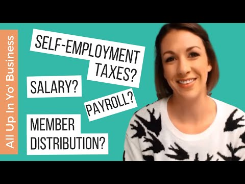 All Up In Yo' Business: How Do I Pay Myself in a Single-Member LLC?