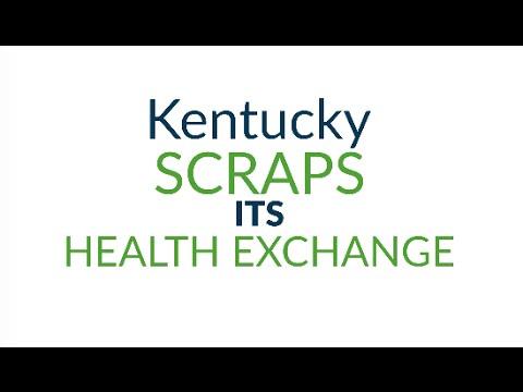Kentucky scraps its health exchange