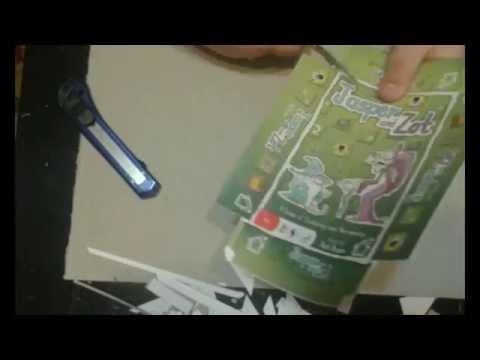 Изработване на игра за принтиране (timelapse) - BigBoxTyr