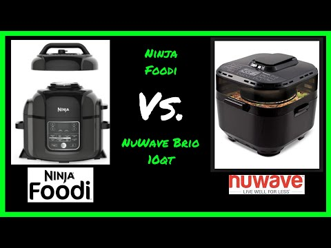 Ninja Foodi VS NuWave Brio 10qt Air Fryer | As Seen On TV Battle!