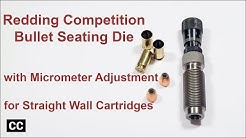 Redding Competition micro adjustable bullet seating die