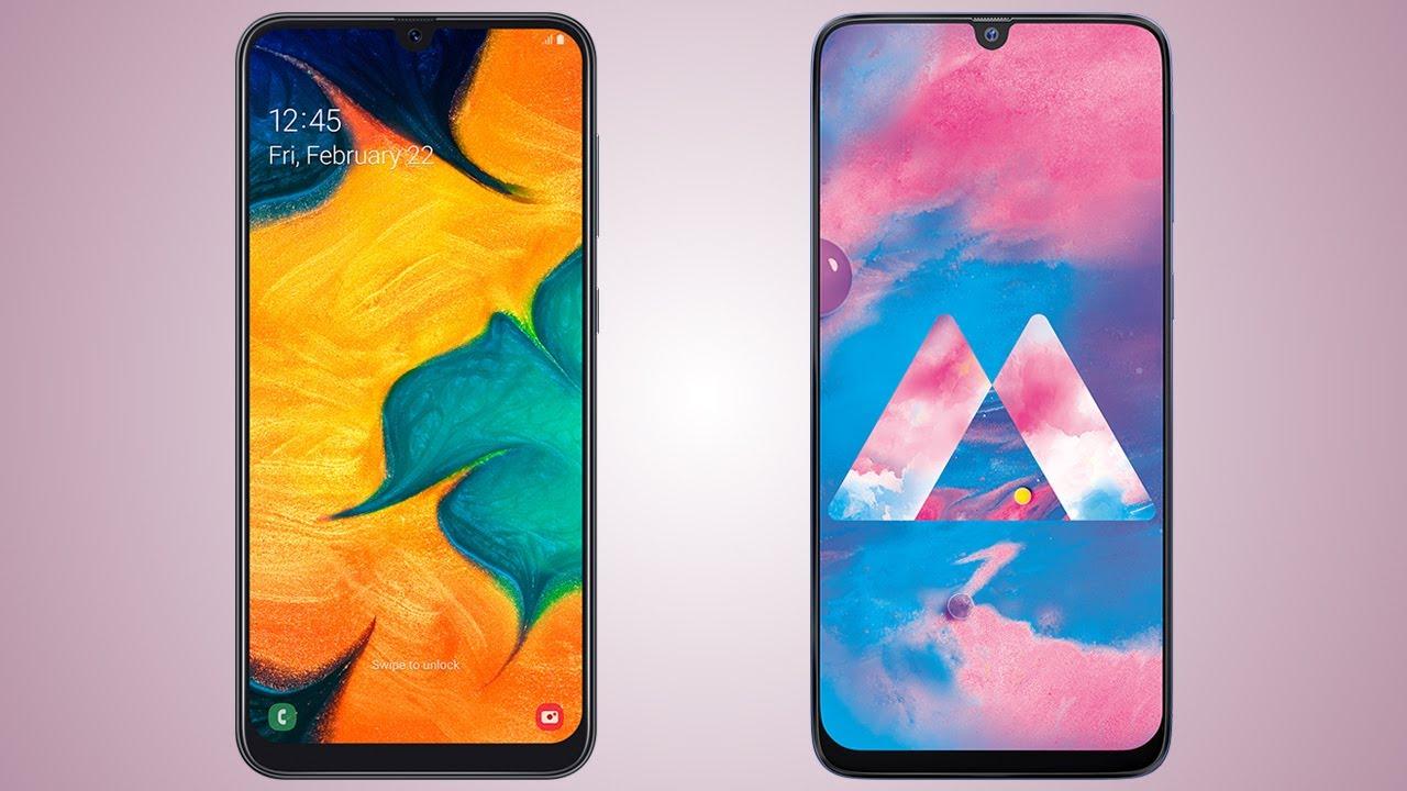 Samsung Galaxy A30 vs Galaxy M30  in-depth comparison