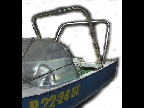 Тент для лодки своими руками ч 1 дуги