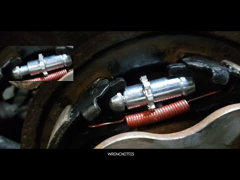 How to replace e-brakes | Parking brakes | infiniti G35 & Nissan 350z