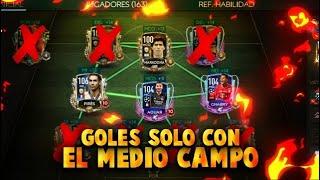 🔥¡GOLES SOLO con los MEDIO CENTRO!🔥 😱RETO CARA VS CARA😱 - FIFA MOBILE 20