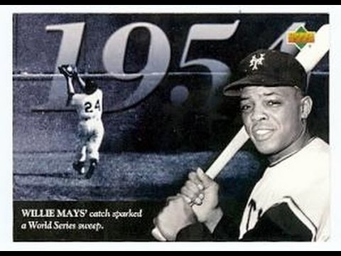 Willie Mays Tribute- career highlights, greatest plays, games.
