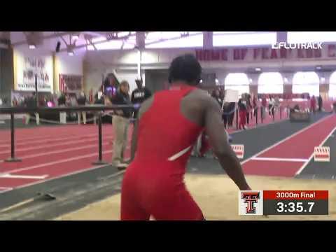 Odaine Lewis 7.99m NCAA Lead Long Jump