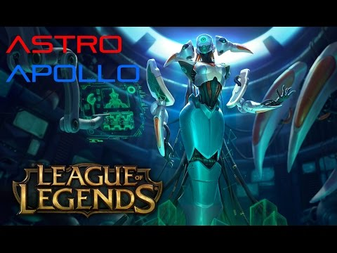 Top Lane Lissandra - ICE SHARDS - Astro Apollo