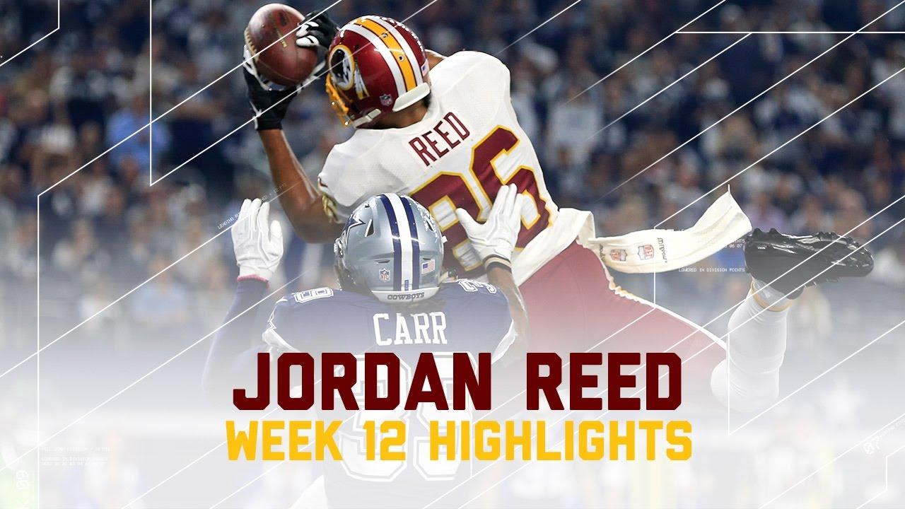 Jordan Reed s 2 TD Day Redskins vs Cowboys
