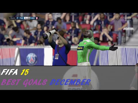 FIFA 15 - BEST GOALS OF THE MONTH DECEMBER - SKILLMOVES COMBOS COMBINATIONS