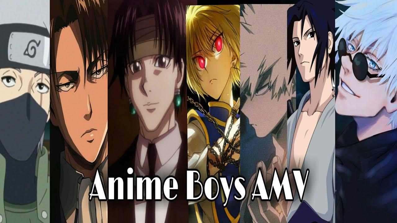 Anime Boys AMV - Rude Boy Rihanna