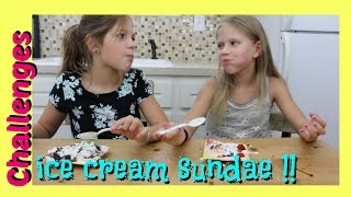 Ice Cream Sundae Challenge | Jazzy Girl Stuff