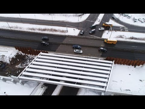 See from above the status of the I-690 project