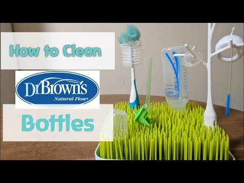 How to Clean Dr. Brown Bottles & Leave Them Squeaky Clean!