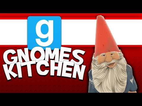 Gmod Sandbox - Gnomes Kitchen! (Garrys Mod Sandbox Funny Moments)