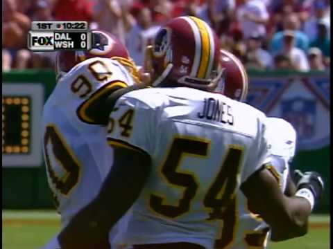 1999 Week 1 Dallas Cowboys at Washington Redskins