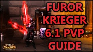 WoW WoD 6.1 - Furor Krieger PvP Guide [Full HD, German]