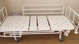 Кровать медицинская МСК 1103 (Видео обзор)
