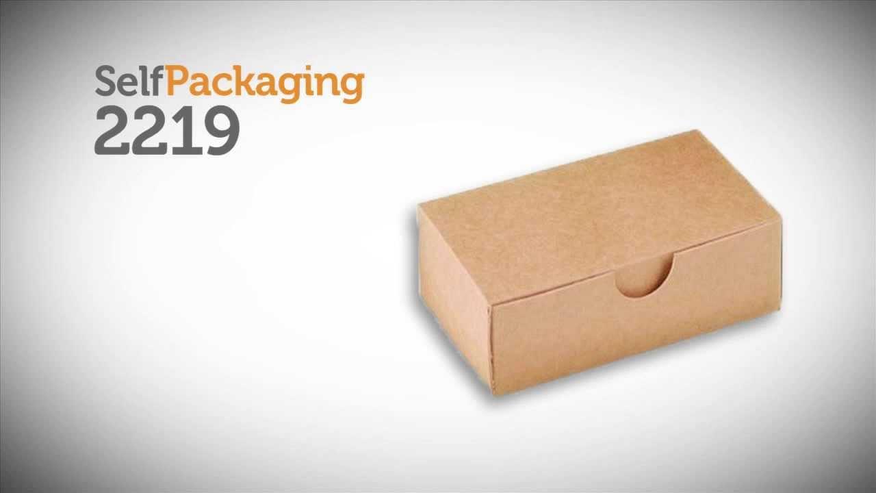 Caja para tarjetas de visita - Vídeo de montaje ref. 2219 ...