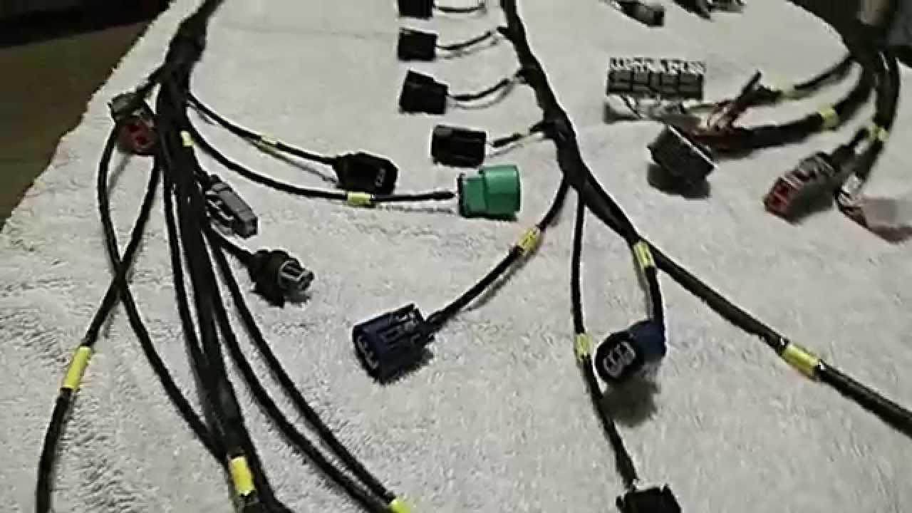 truewire custom mil spec ep3 k series engine harness [ 1280 x 720 Pixel ]