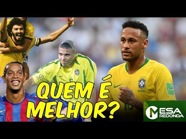 NEYMAR x Ronaldo, Sócrates, Zico, Romário, Ronaldinho e mais CRAQUES | Quem é melhor? (17/02/19)
