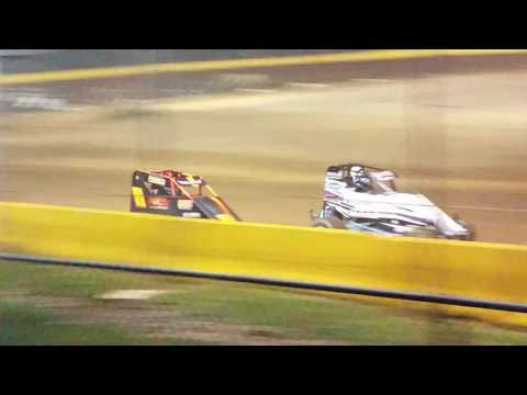 Ryan Quackenbush Hamlin speedway Sept 17th,  2016 feature 600