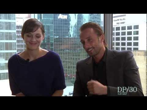 DP/30: Rust and Bone, actors Marion Cotillard, Matthias Schoenaerts