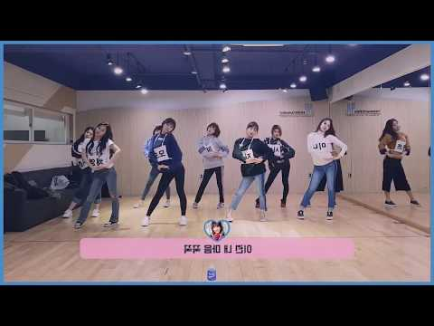 [mirrored & 50% Slowed] TWICE - LIKEY Dance Video