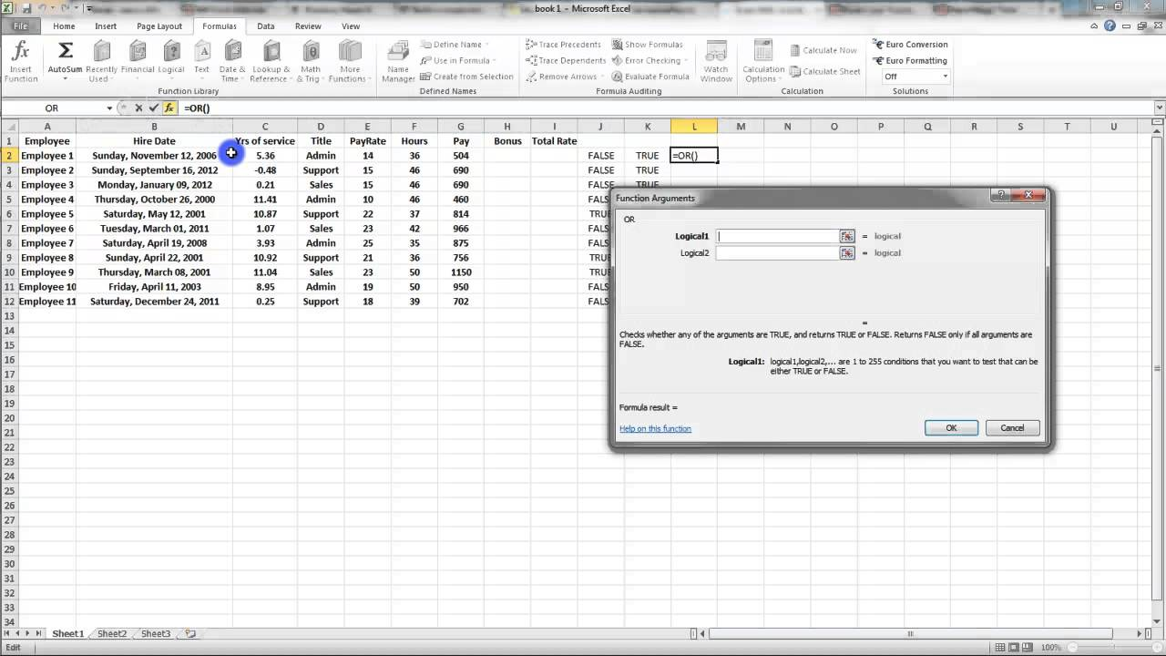ms excel 2007 tutorial pdf with formulas in urdu