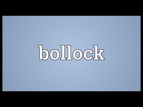 Header of bollock