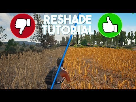 PlayerUnknown's Battlegrounds ReShade Tutorial & Settings! (REMOVE BLUR/INCREASE VISIBILITY!)