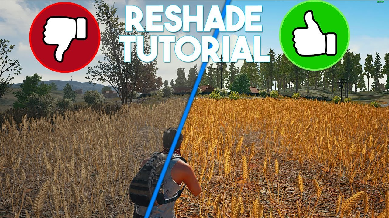 Playerunknowns Battlegrounds Reshade Tutorial Settings Remove Blur Increase Visibility