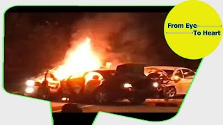 Car Crash) very Shock dash camera 2018 NEW By Top Speed Motor HD (1221) HD