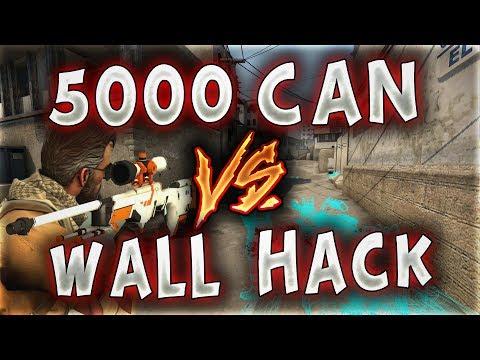 Download Youtube: 5000 CAN VS WALL HACK MERTCAN BENİ DELİ ETTİ !! (CS:GO)