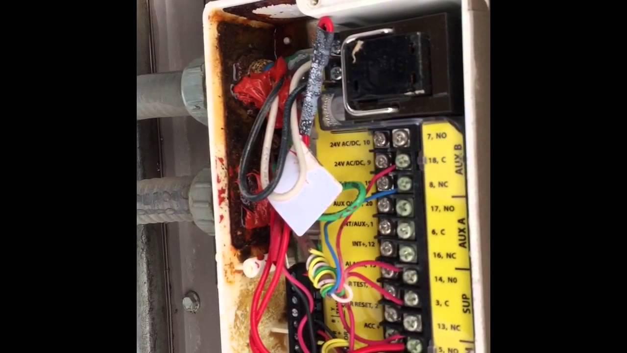 Duct Smoke Detector Wiring Diagram Of Ear Label Test Troubleshooting Rtu Detector. - Youtube