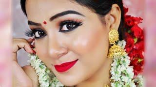 I Transformed Myself into a BENGALI GIRL | Durga Puja Makeup Tutorial