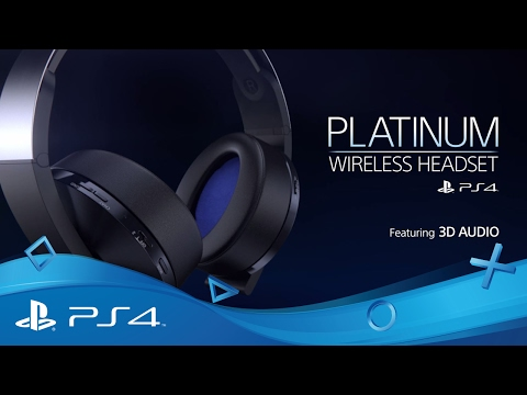 Platinum Wireless Headset | Hear Everything | PS4