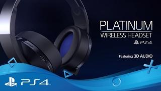 Platinum Wireless Headset | Hear Everything | PS4