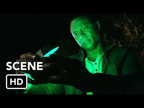 Arrow Series Finale - Diggle Green Lantern Tease Scene (HD)