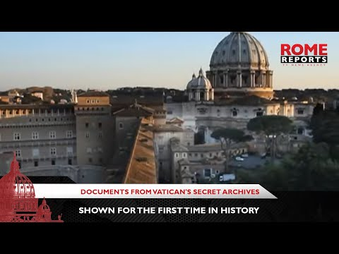 Documents from Vatican's Secret Archives shown for the first