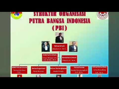 Mars ormas Putra Bangsa Indonesia dan LBH PBI