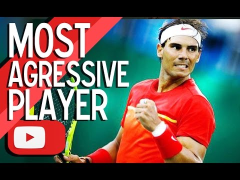 Rafael Nadal - Most agressive player ᴴᴰ